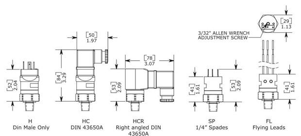 Anfield SVA Vacuum Switch